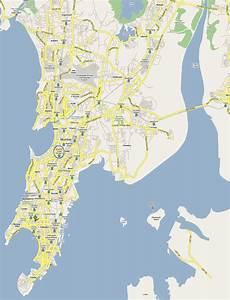 www.Mappi.net : Maps of cities : Bombay Mumbai