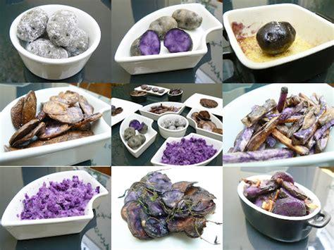 comment cuisiner les pommes de terre comment cuisiner la pomme de terre violette vitelotte