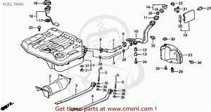 Honda Civic Wagon 1988  J  Wgn 4wd 1600  Ka Kl  Fuel Tank