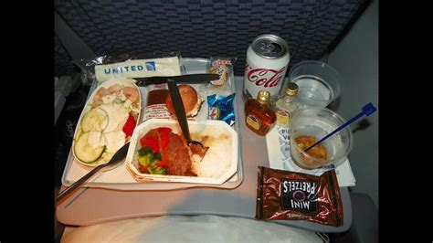 Hd Continental Airlines 777 Food Service Ewr-hkg Free