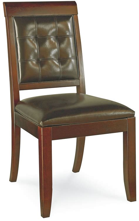 tribecca root beer leg dining room set from american drew
