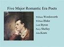 PPT - The Romantic Era in British Literature PowerPoint ...