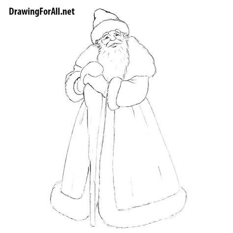 draw ded moroz drawingforallnet