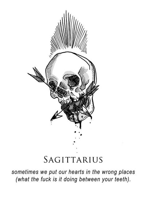It's between my teeth because I speak from my heart... | Sagittarius, Sagittarius astrology