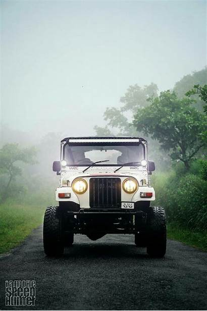 Thar Mahindra Modified Wallpapers Jeep Offroad Iphone