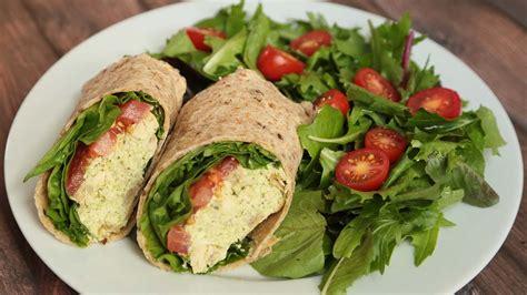 healthy wrap recipes   school lunch ideas youtube