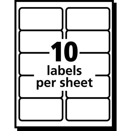 avery 8663 template avery inkjet label 8663 shipping pk25 8663 zoro