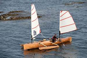 Rowboat That Can Sail Built From Plans