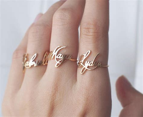 Custom Name Ring Personalized Name Ring Your Name Jewelry. French Style Engagement Rings. .96 Carat Engagement Rings. Yellow Beryl Rings. Precious Opal Wedding Rings. Thumb Print Wedding Rings. Zoey Engagement Rings. Southwestern Engagement Rings. Church Wedding Wedding Rings