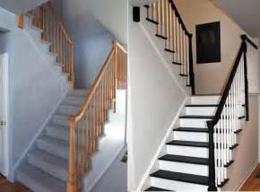 Carpet Runners For Halls by Top Decor Escalier Peint Et R 233 Nov 233 E Avant Et Apres