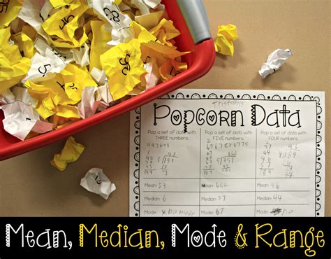 the primary gal median and mode an activity your students will