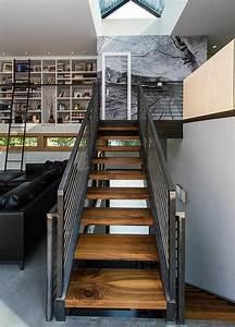 Escalier Fer Et Bois : designs captivants d 39 escalier loft ~ Dailycaller-alerts.com Idées de Décoration