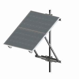 Fixation Panneau Solaire : support de fixation mur m t panneau solaire 200u zs ~ Dallasstarsshop.com Idées de Décoration