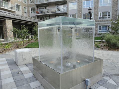 mur et fontaine d eau ext 233 rieur avec 233 clairage int 233 gr 233