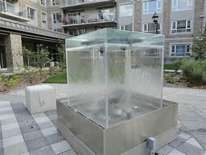 Fontaine A Eau Exterieur : mur et fontaine d 39 eau ext rieur avec clairage int gr ~ Dailycaller-alerts.com Idées de Décoration