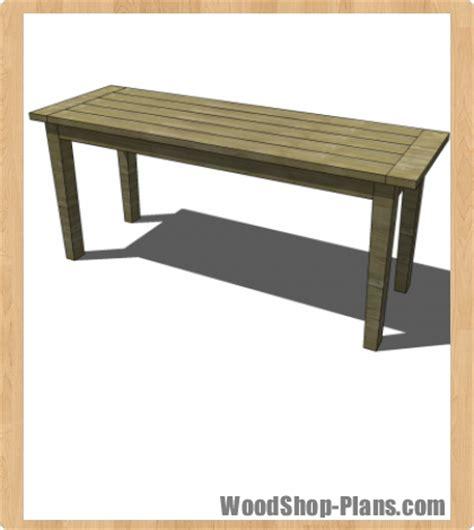 boulangerie bar table woodworking plans woodshop plans