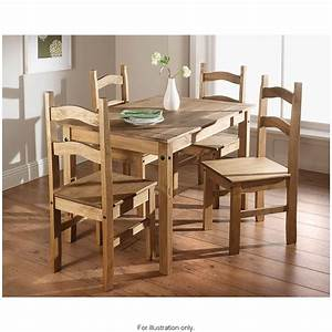 Rio 5 Piece Dining Set Dining Furniture Sets - B&M