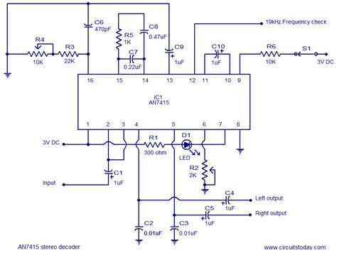 Stereo Demodulator Circuit Based