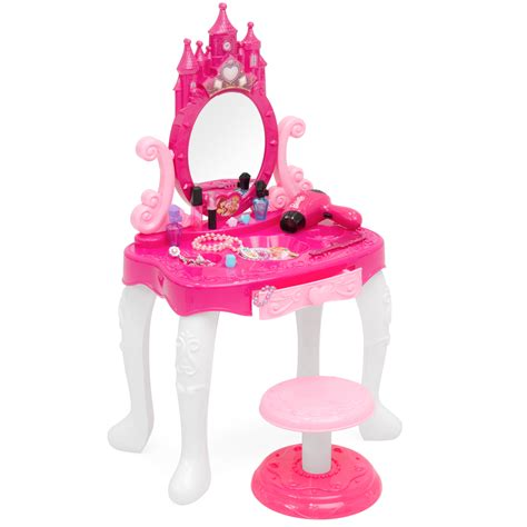 toddler vanity table bestchoiceproducts best choice products 14 pretend