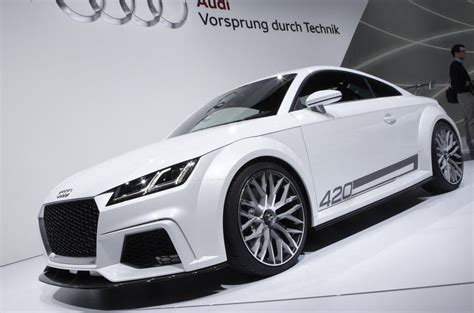 expanded audi tt range to spawn new family car autocar