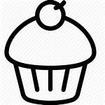 Dessert Icon Muffin Cupcake Sweet Editor Open