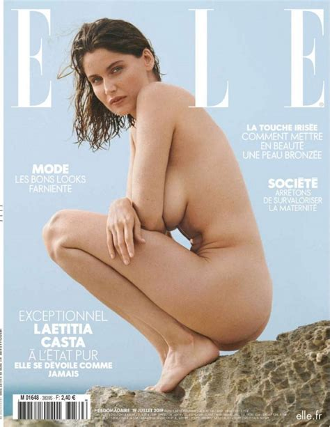 Laetitia Casta Nude For Elle France 2019 The Fappening