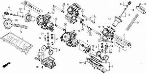 Jet Kits How To    Carburetor Diagrams    Vt700c 1987