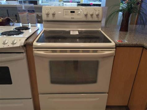 stove electric kenmore range bisque smooth oven americanlisted ovens