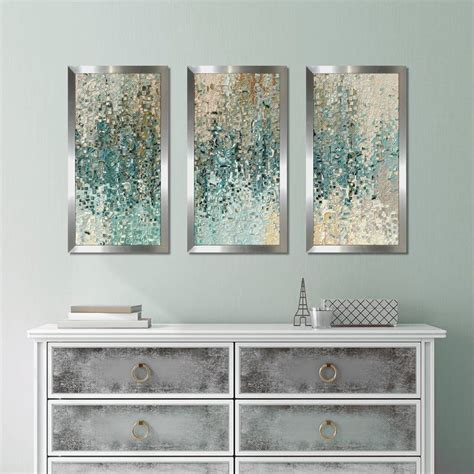 """Bring some fun into your laundry room with this set of 3 wash dry fold wall art by stratton home decor. """"Romans 8 39 Max"""" by Mark Lawrence 3 Piece Framed Graphic Art Print Set 