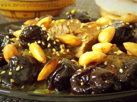 tajine hlou aux pruneaux plat ramadan le blog cuisine