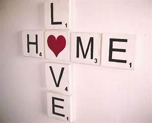 Scrabble Buchstaben Deko : scrabble wanddeko diy pretty little page ~ Yasmunasinghe.com Haus und Dekorationen