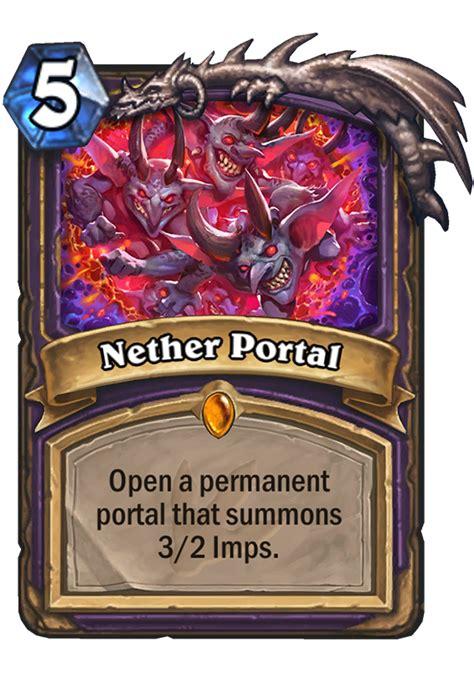 nether portal hearthstone card