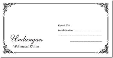 pondok bisnis internet template undangan