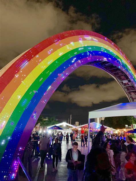 rainbow bridge  lummus park south beach