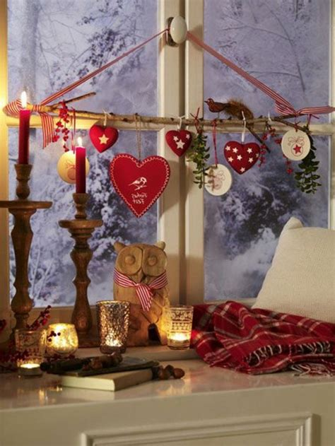 Fensterdeko Weihnachten Rot by Fensterdeko Zu Weihnachten 104 Neue Ideen Archzine Net