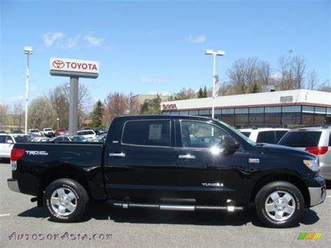 Toyota Tundra Crewmax 4x4 For Sale by 2010 Toyota Tundra Trd Crewmax 4x4 In Black 153450