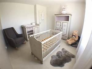 amazing chambre coucher bb satinelle elonore dco with With chambre bébé design avec hostellerie val fleuri