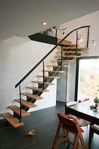 Escalier Fer Et Bois : les 25 meilleures id es concernant escalier quart tournant ~ Dailycaller-alerts.com Idées de Décoration