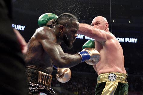 tyson fury  deontay wilder rematch uk fight