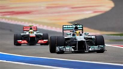 Hamilton Lewis Wallpapers F1 Mercedes Bahrain Sports