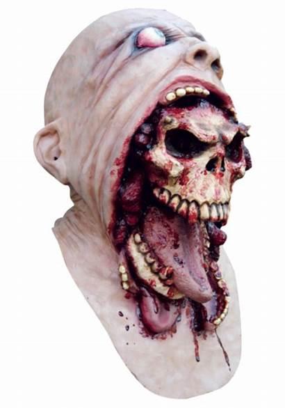 Mask Horror Halloween Latex Demon Head Charlie