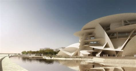 Nationalmuseum Katar In Doha by Qataris Given A Peek Inside Construction National