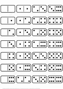 Printable Dominoes Set Template   Free Printable ...
