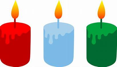 Clipart Candles Three Churches Candle Birthday Votive