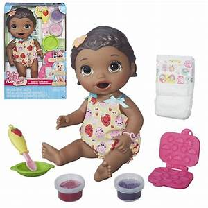 Artissimo Designs San Diego Baby Alive Snackin 39 Lily Doll African American Hasbro