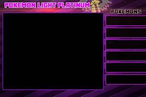 Pokemon Light Platinum Sidebars By Goldenrayquaza7 On
