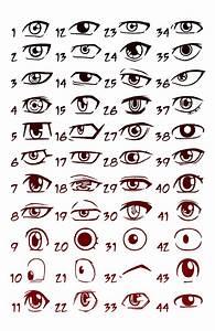 Manga Eyes Shonen by Godsartist on DeviantArt