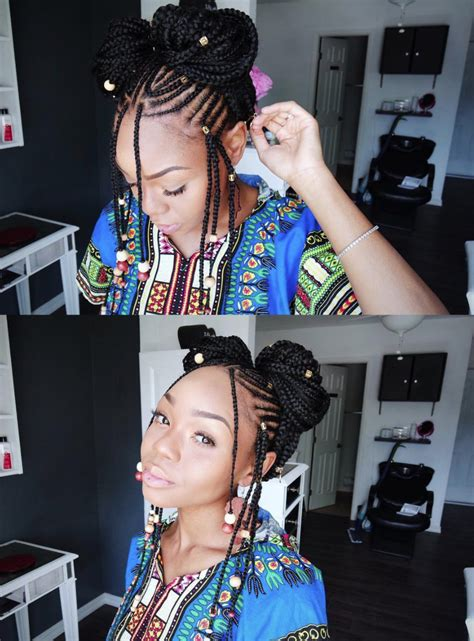 stunning images  fulani inspired braids