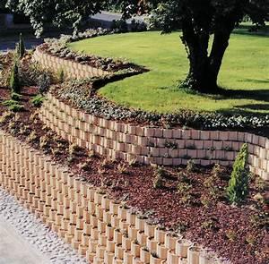 Comment Retenir La Terre Dans Une Pente : deco jardin en pente ~ Melissatoandfro.com Idées de Décoration