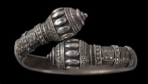 Indian Silver Hanuman Mace (Gada) Bracelet - Michael ...